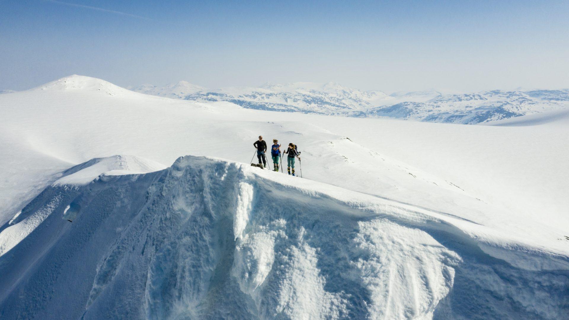 Skitur på Glomfjellet