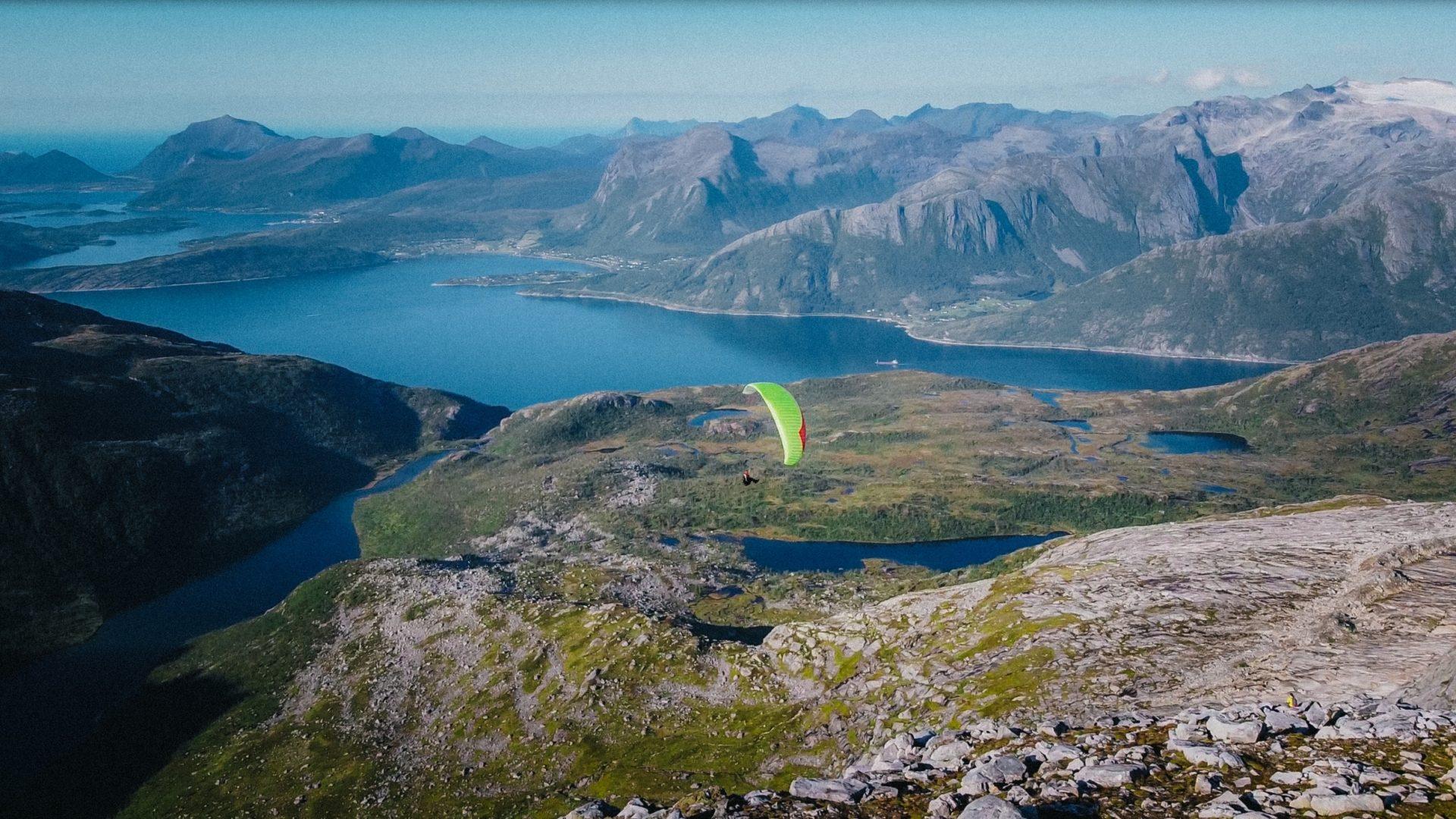 Stortinden i Meløy byr på flott utsikt