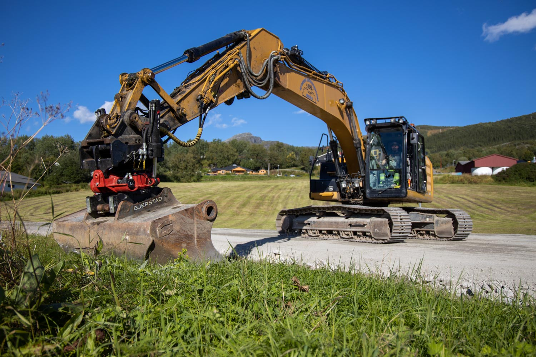Reipå Knuseri tilbyr gravemaskintjenester
